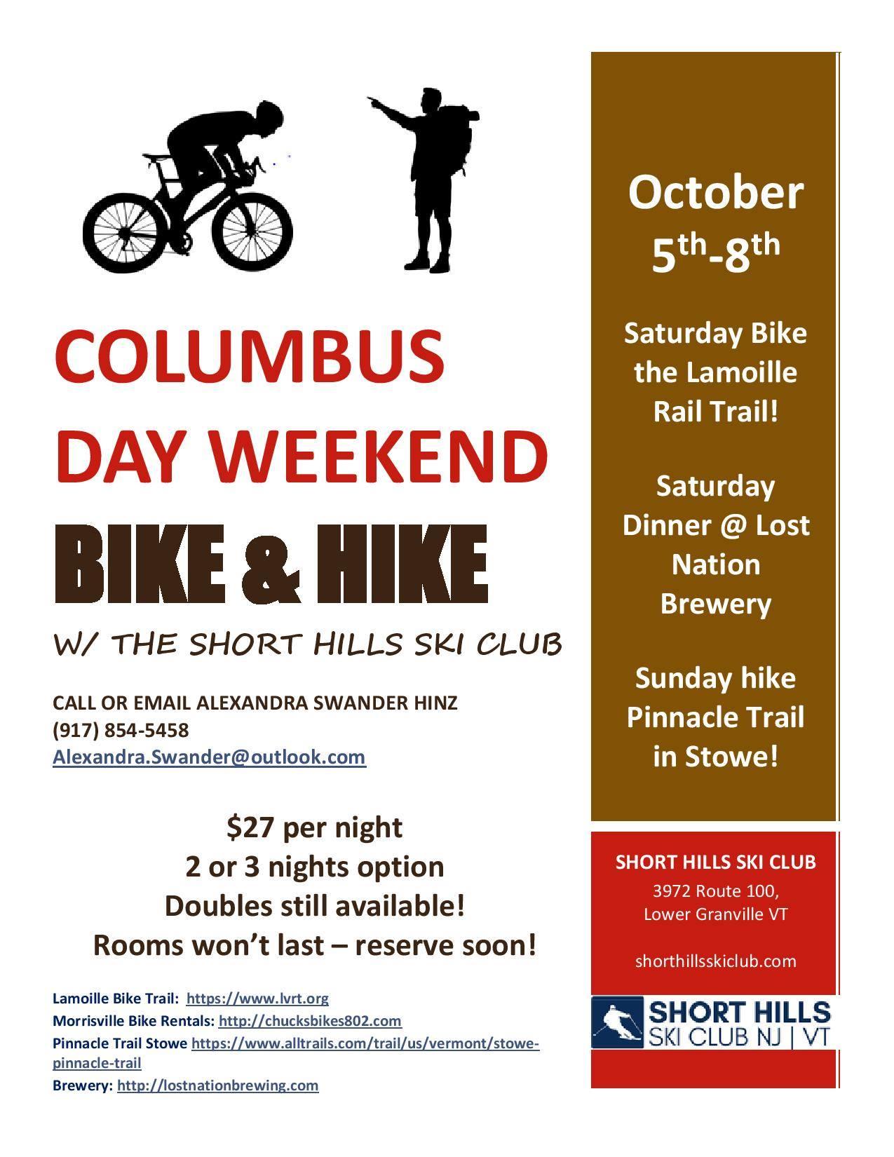 SHSC Hike and Bike Weekend 8