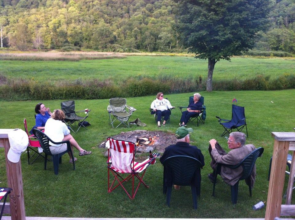 SHSC Lodge Backyard Bonfire 2