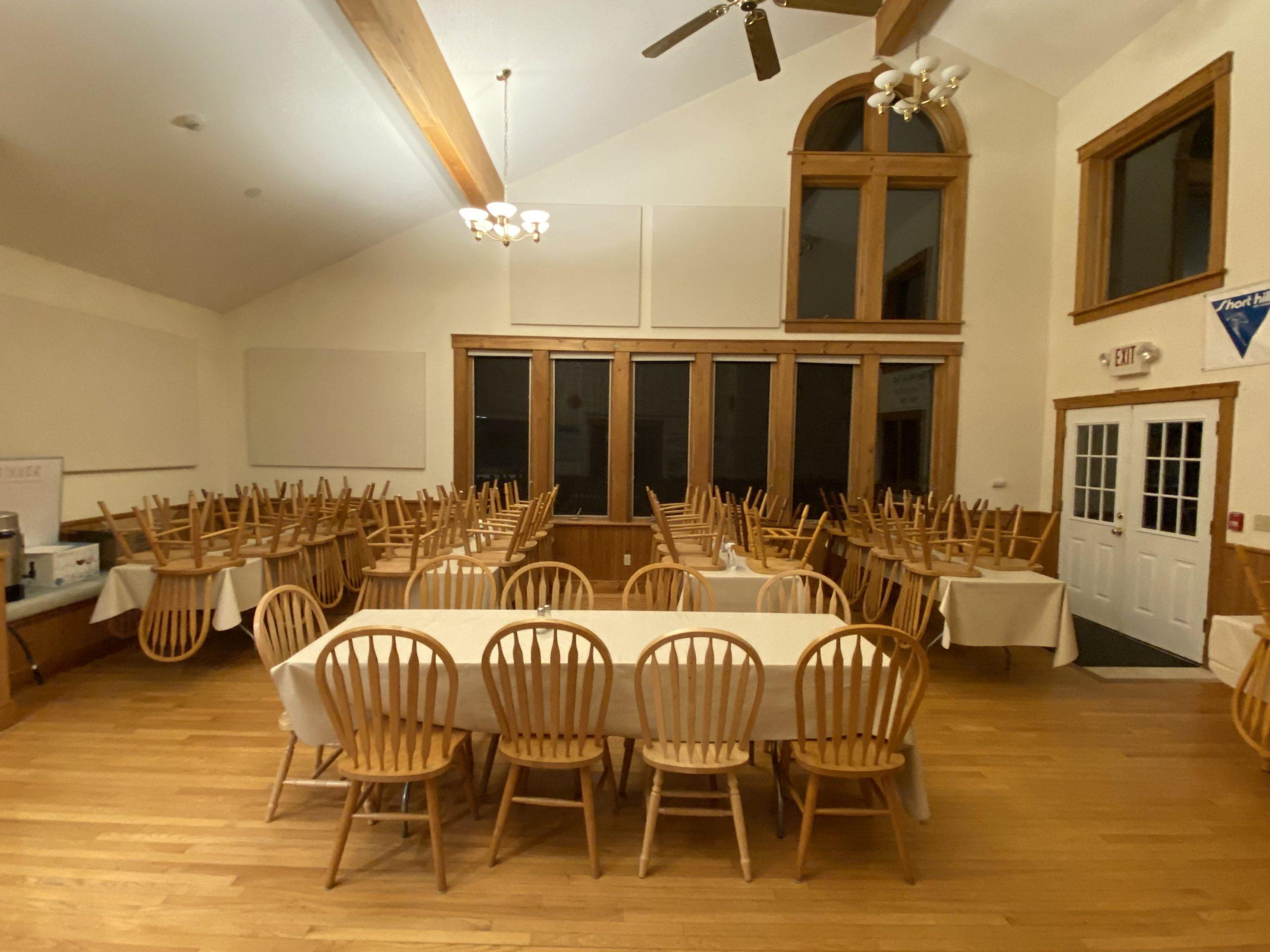 SHSC Lodge Dining Room
