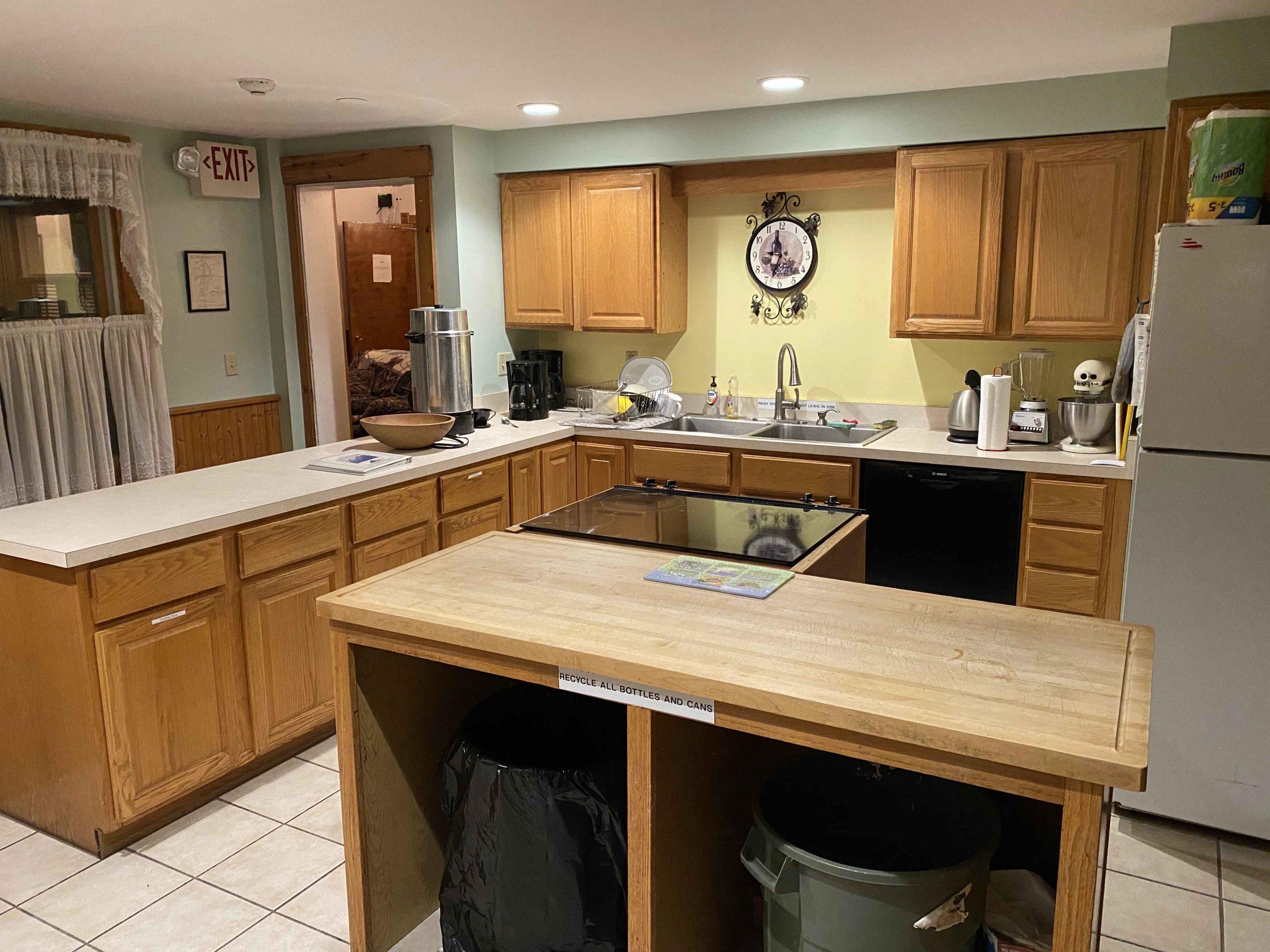 SHSC Lodge Kitchen