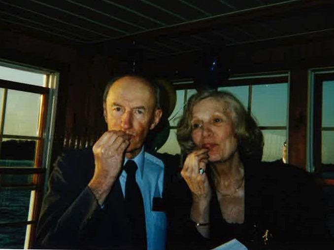 SHSC Banquet 2001 - Carol & John Adamson