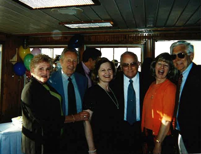 SHSC Banquet 2001 - Wilma & Kurt, Barbara & Jim, Sue & Phil