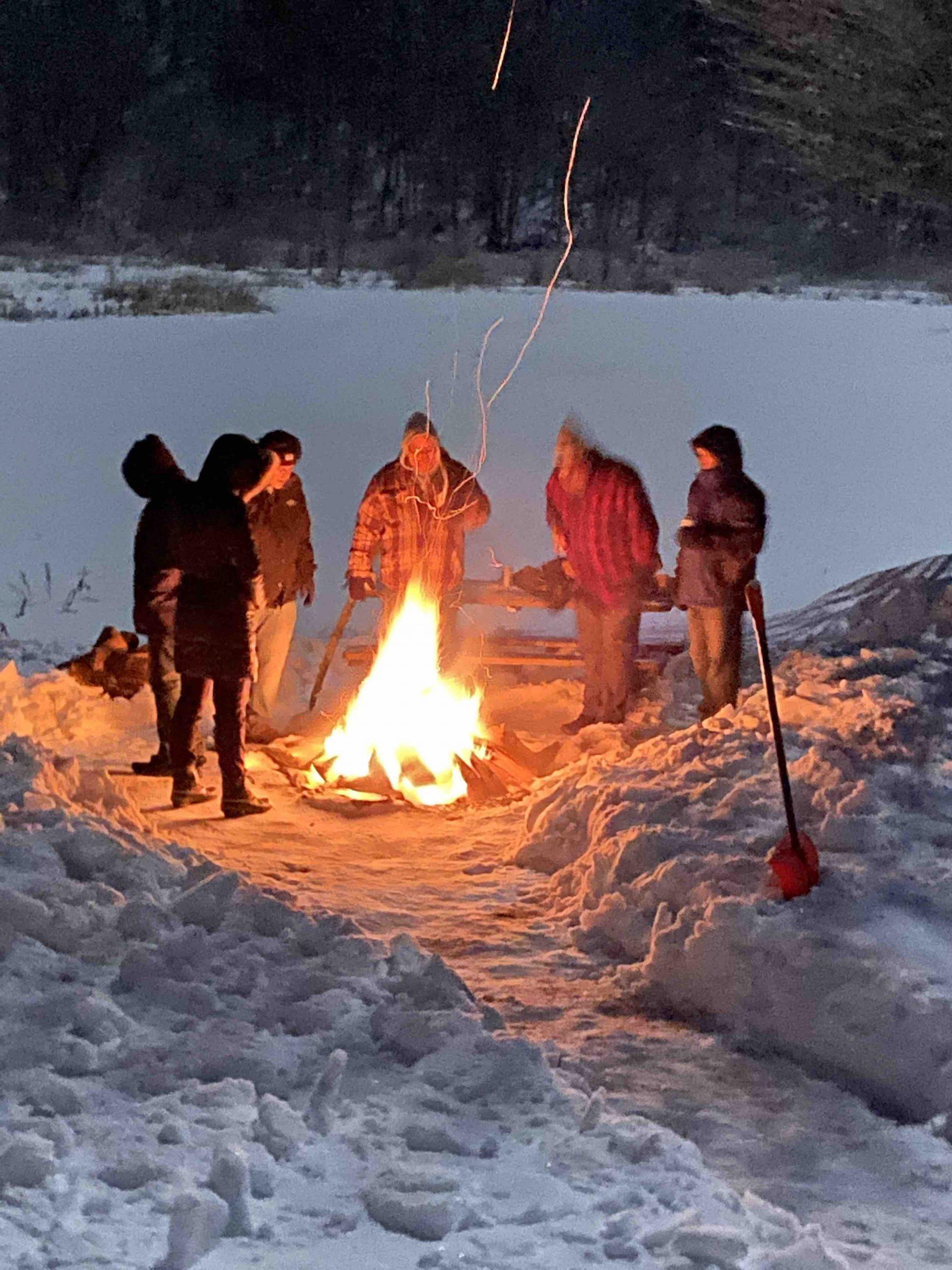 SHSC Lodge Backyard Bonfire 4