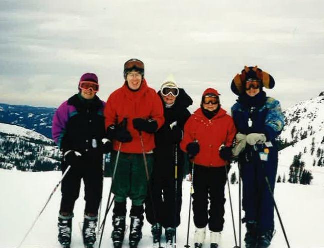 Squaw Valley 2000 - Astrid Martin, Don Brown, Gerry Billington, Mary Thompson, Jan Zymroz