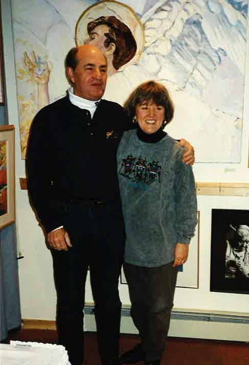 Taos New Mexico 1996 - Dolores & Dave Bagish