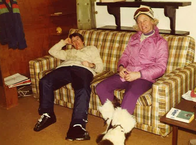 Taos New Mexico 1996 - Sal Maynard & Jan Zymroz at Condo