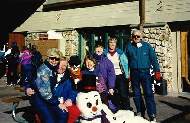 Vail Colorado - Jan, Dave K, Sue, Barbara, Jean Flower, Jack A